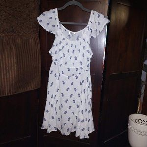Beautiful Cotton On Wv Jess Off the Shoulder dress